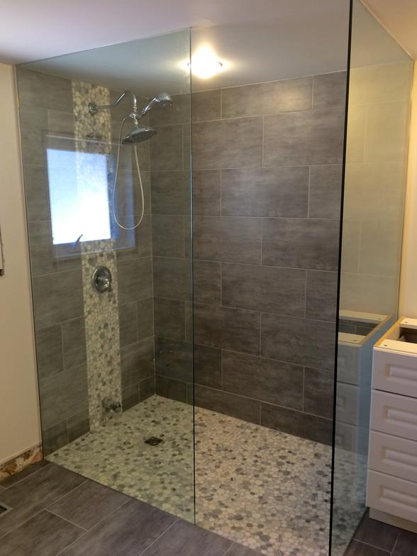 York Region Custom Frameless Glass Shower Enclosures Newmarket